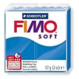 Pâte Fimo Soft 57gr Bleu Pacifique (n°37)