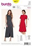 Patron de couture Burda 6877 pour femme-Robe avec jupe Technologie Wrap