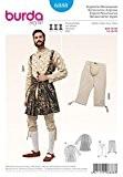 Patron de couture Burda - 6888-historiques Costume de soldat