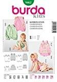 Patron de couture Burda bébés facile 9462-robe, culotte Jumpsuits & A Partir de 12 mois
