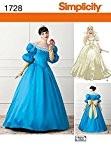 Patron de couture Simplicity 1728pour Costume Tailles?: P5(40–42–44–46–48)