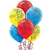 Paw Patrol Latex Balloons [6 Per Pack]