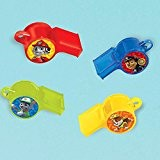 Paw Patrol Whistle Favors 12 Count by Amscan