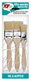 Pébéo 950450 Pochette de 3 Spalters Manche Longue Soies Beau Blanc