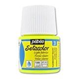 Peinture Setacolor Tissus clairs Jaune Fluo (n°31) x45ml