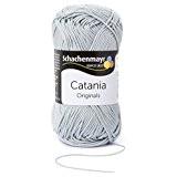 Pelote de laine Schachenmayr Catania, 172 argent-Gris , 50g , 100% Coton laine à tricoter (Import Allemagne)