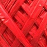 Pelotes de raphia lisse rouge