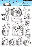 """Penny Black Clear Stamps 5 """"X7.5"""" Feuille-Every Which Way"""