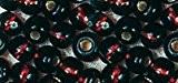Perle rocaille - Brun - Garniture argent - Ø2,6mm-16 g - Rayher