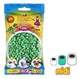 Perles à repasser Hama MIDI 5 mm Vert Clair (n°11) x1000