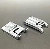 Pied passepoil universel en métal pour machines à coudre Singer/Brother/Janome/Toyota Austin et autres