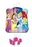 Pinata Disney Princesses Raiponce Belle Cendrillon Ariel à ficelles 28 x 33 cm Anniversaire fête enfants