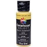 Plaid?: Delta Ceramcoat Select Peinture multi-surfaces Jaune pâle 15ml