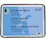 Plateau Boucher en porcelaine 11x 15