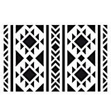 Pochoir décoratif Home deco 10x15 cm Fond ethnique navajo