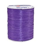 Prasent Bobine de fil de raphia rayonne Violet 100 m