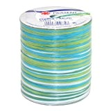 Prasent Bobine de rayonne de raphia Turquoise/multicolore 50 m