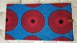 Premium africaine Tissu * tout 5,5m * 100% coton, Cire africaine en tissu imprimé pour couture, Quilting Tissu, tissu, tissu ...