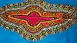 PREMIUM African tissu Ensemble de 6 mètres **100%  coton pour cire africaine en tissu imprimé matelassage/couture en tissu Vintage ...