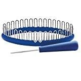 PRYM 31388 Tricotin pour Chaussettes/Mitaines Taille M Plastique Bleu 19 x 7 x 5 cm