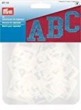 Prym Assortiment pochoirs pour Alphabet, transparent