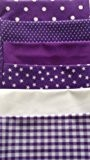 PURPLE SET FAT QUARTER BUNDLE **FREE U.K POST** POLYCOTTON POPLIN FABRIC JAPANESE QKT 4000 POLY COTTON MATERIAL FAT QUARTERS PLAIN ...