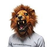 Queenshiny® latex masque animal (Lion)
