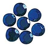 RAYHER hobby 1520910-strass-verre thermocollant imprimé, 3 mm de diamètre de 45, d.blau