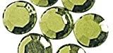 RAYHER hobby 1521111-verre-strass thermocollant, 5 mm de diamètre-sachet 45 st., h.grün
