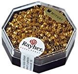 Rayher Hobby  Miyuki Delica 2 2 Mm Métallic Or