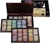 Rembrandt Pastel sec : 225 Complete Deluxe Coffret en bois Set : Excellent