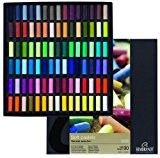 Rembrandt soft pastel half stick 90 color set (japan import)