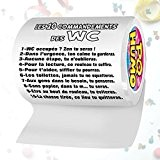 Rouleau papier WC 10 commandements