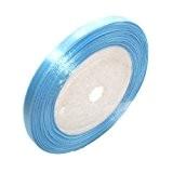Ruban satin bleu clair 6mm-22M