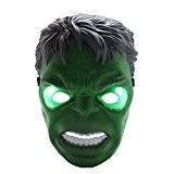 Rubility® Décorations d'Halloween Masque de Horreur Masque avec LED Lumières Déguisement Masque de Cartoon Cosplay Gadget Pour la Toussaint / ...