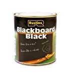 Rustins RUSQDBB250 Peinture tableau à séchage rapide 250 ml (Noir)