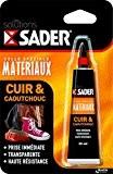 Sader 30603554 Colle pour Cuir/Caoutchouc 30 ml