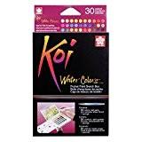 Sakura Koi Aquarelle poche Champ Croquis Boîte 30couleurs assorties Couleurs, acrylique, multicolore