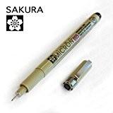 Sakura Pigma Micron–Feutre fin Pigment –Simple–0,05mm–Noir