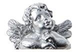 SANTEX 70038-4, Sachet de 4 marque-places Ange couleur argent