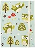 Sass Belle ressort & mini carnet Motif hibou
