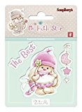scrapberry de lapin My Little Star Clear Ensemble de tampons, en acrylique, transparent, 7 x 7 x 7 cm