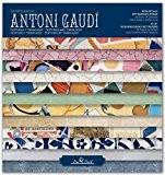 SCRAPBOOK GAUDI - Pad 8''- 203mm // Ensemble de papiers pour Scrapbooking
