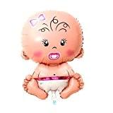 Seguryy Ballons à l'hélium métalliques pour bébé/enfant