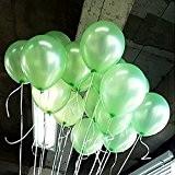 Seguryy Sachet De 100 Ballons Nacrés Perle Latex-10pouces Ballons Décoration pour Anniversaire Mariage Soirée Partie