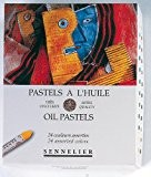 Sennelier artistes huile Pastels - Set of 24 x Assortis Couleurs