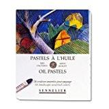 Sennelier artistes huile Pastels - Set of 24 x Landscape Couleurs