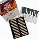 Sennelier-Coffret de 24pastels à l'huile Boîte cartonné Portrait Couleurs Plus sans curtisward Multi médias Format A5