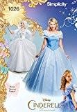 Simplicity 1026Taille H5Disney Cendrillon et patron de couture Fée Marraine Patrons costumes pour femme, multicolore