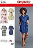 """Simplicity 8014u5""""Robe pour femme pour femme Patron de Couture, papier"""